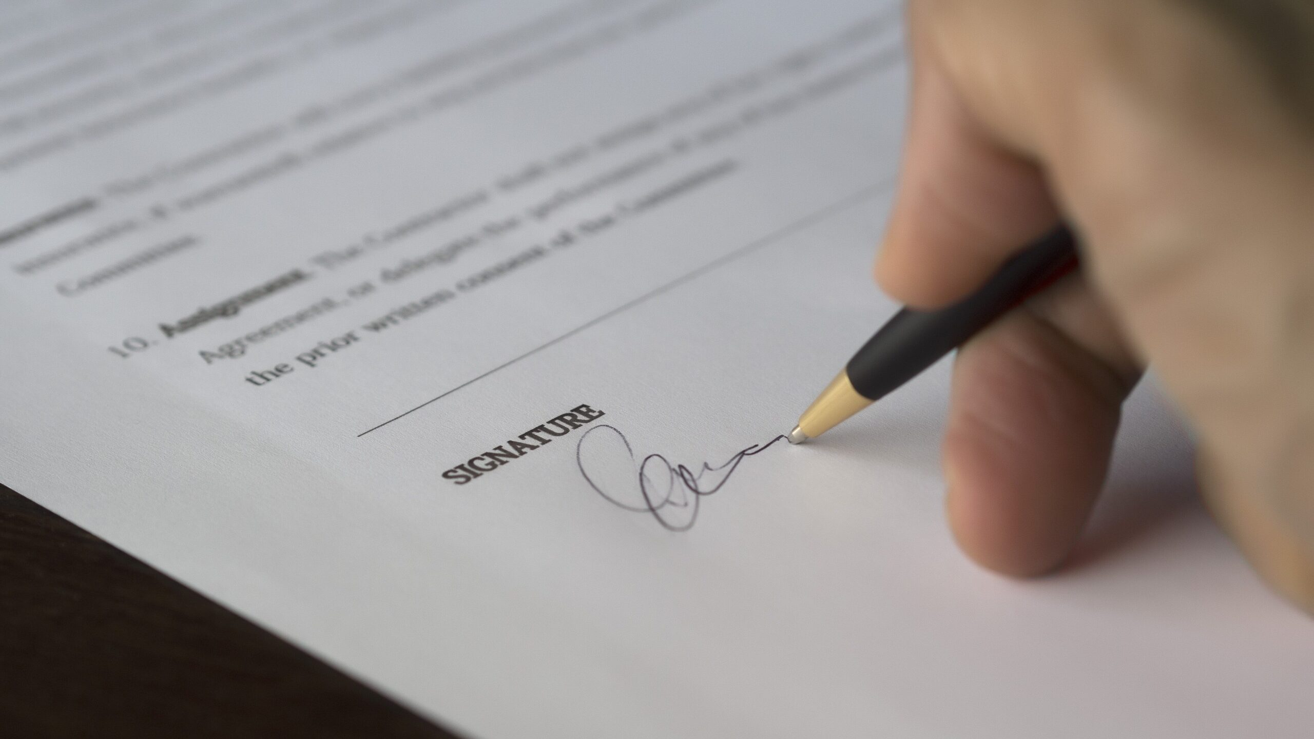 Electronic signatures for legal documents
